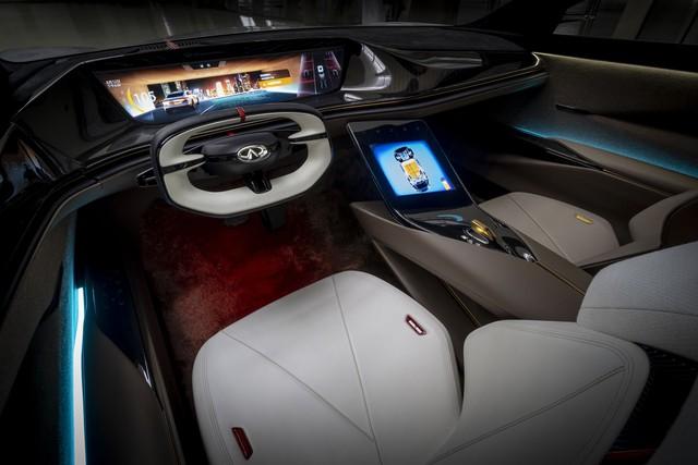 Infiniti Qs Inspiration - Cửa mở như Rolls-Royce và những thử nghiệm táo bạo để đuổi kịp đối thủ - Ảnh 10.