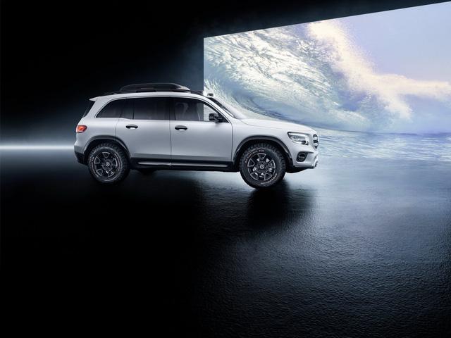 Mercedes-Benz chính thức trình làng GLB: SUV vuông vắn giống GLK, trang bị AWD, đủ rộng cho 7 người - Ảnh 4.