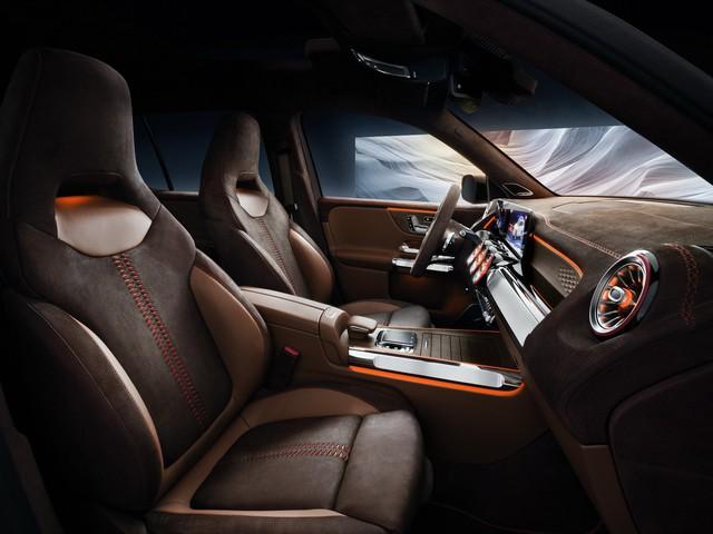 Mercedes-Benz chính thức trình làng GLB: SUV vuông vắn giống GLK, trang bị AWD, đủ rộng cho 7 người - Ảnh 6.
