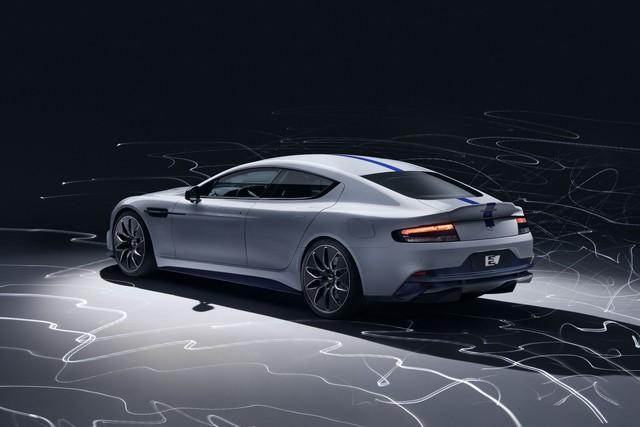 Aston Martin ra mắt Rapide E, khởi đầu kỷ nguyên mới - Ảnh 2.