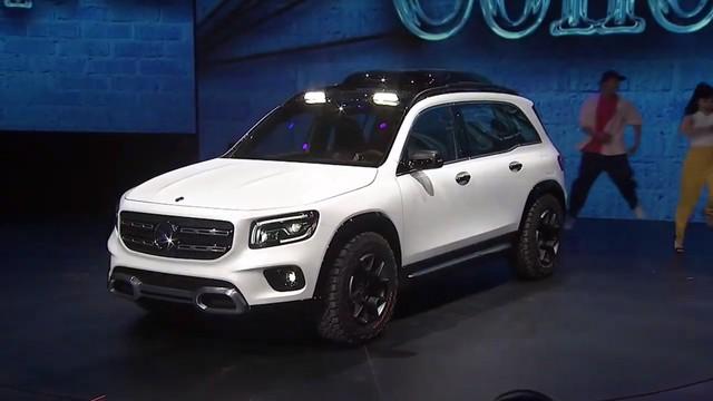 Mercedes-Benz chính thức trình làng GLB: SUV vuông vắn giống GLK, trang bị AWD, đủ rộng cho 7 người - Ảnh 1.