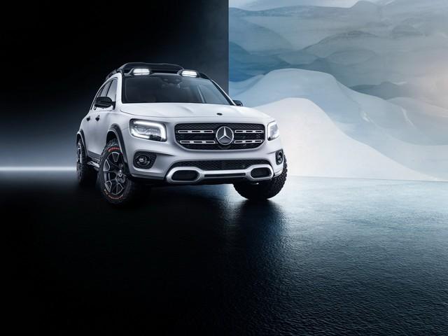 Mercedes-Benz chính thức trình làng GLB: SUV vuông vắn giống GLK, trang bị AWD, đủ rộng cho 7 người - Ảnh 10.