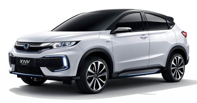 Ra mắt Honda X-NV: HR-V chạy điện với 1 chi tiết cực theo trend - Ảnh 1.