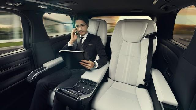 Ra mắt Lexus LM minivan - Siêu Toyota Alphard cho nhà giàu - Ảnh 4.