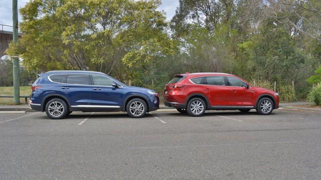 Giá từ hơn 1,1 tỷ đồng, Mazda CX-8 có gì cạnh tranh Hyundai Santa Fe khi mở bán trong thời gian tới? - Ảnh 2.