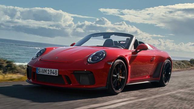 Porsche 911 Speedster 2019: Mui trần hoàn hảo của huyền thoại