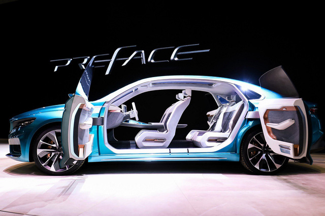 Geely Preface Concept - Cách người Trung Quốc làm xe để cả thế giới hết nhạo báng - Ảnh 5.