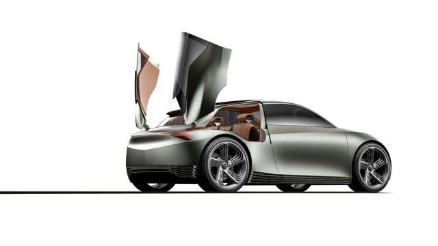 Xe Hàn chơi dị xem dân tình có trầm trồ: Genesis Mint Concept với 2 cửa phụ cánh chim như siêu xe - Ảnh 2.