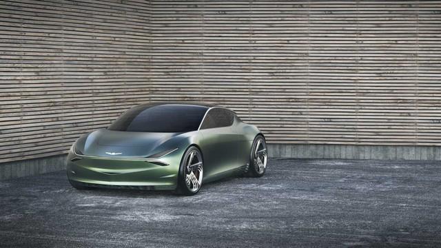 Xe Hàn chơi dị xem dân tình có trầm trồ: Genesis Mint Concept với 2 cửa phụ cánh chim như siêu xe - Ảnh 1.