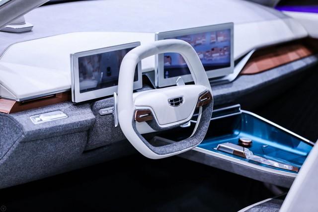Geely Preface Concept - Cách người Trung Quốc làm xe để cả thế giới hết nhạo báng - Ảnh 6.