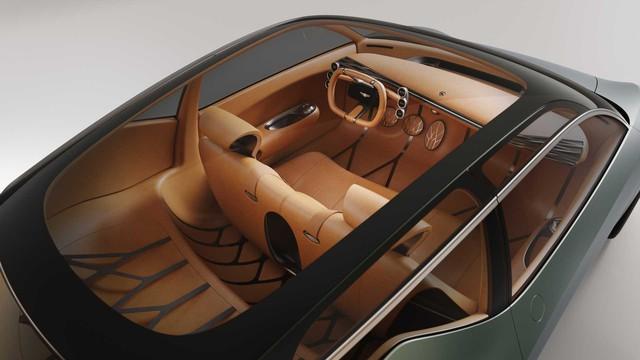 Xe Hàn chơi dị xem dân tình có trầm trồ: Genesis Mint Concept với 2 cửa phụ cánh chim như siêu xe - Ảnh 5.