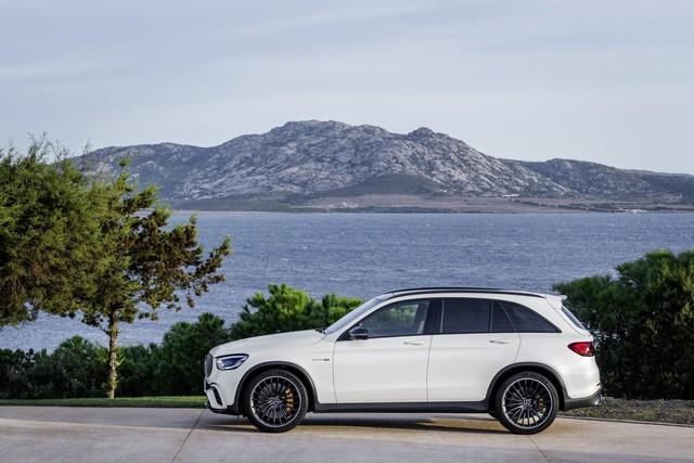 Mercedes-Benz trình làng cấu hình AMG 63 cho GLC thế hệ mới - Ảnh 4.
