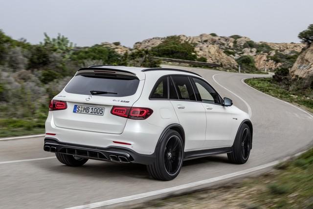 Mercedes-Benz trình làng cấu hình AMG 63 cho GLC thế hệ mới - Ảnh 2.