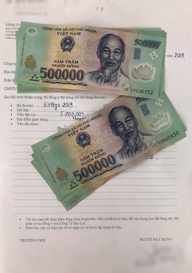 Đại lý ồ ạt nhận đặt cọc Suzuki Ertiga 2019 dù chưa có thông tin và giá bán chính thức - Ảnh 1.