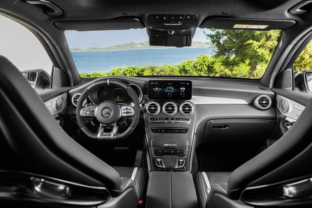 Mercedes-Benz trình làng cấu hình AMG 63 cho GLC thế hệ mới - Ảnh 3.