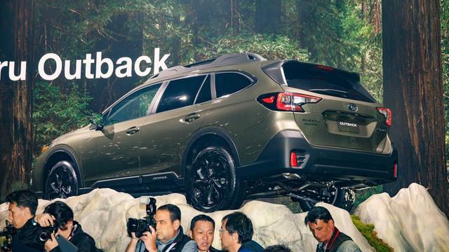 Subaru Outback 2020 trình làng: Công suất mới, thiết kế cũ - Ảnh 6.