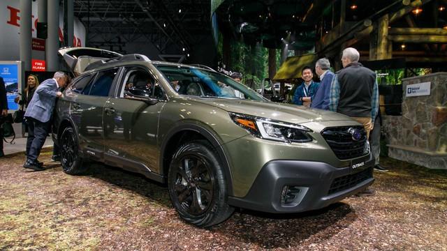 Subaru Outback 2020 trình làng: Công suất mới, thiết kế cũ - Ảnh 1.