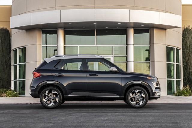 Ra mắt Hyundai Venue hoàn toàn mới: Đàn em Kona mang dáng hình Audi - Ảnh 3.