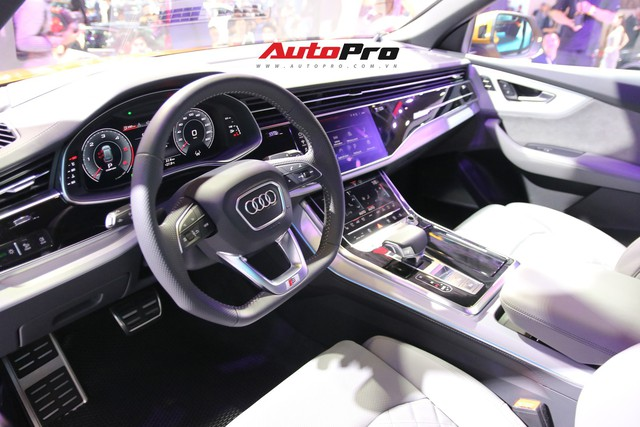 Audi Q8 chính hãng chạy đua với xe nhập tư với giá khởi điểm thấp, chuẩn bị bán tại Việt Nam - Ảnh 3.