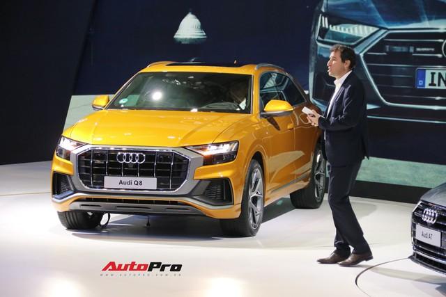 Audi Q8 chính hãng chạy đua với xe nhập tư với giá khởi điểm thấp, chuẩn bị bán tại Việt Nam - Ảnh 1.