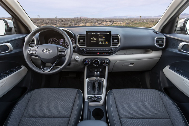 Ra mắt Hyundai Venue hoàn toàn mới: Đàn em Kona mang dáng hình Audi - Ảnh 7.