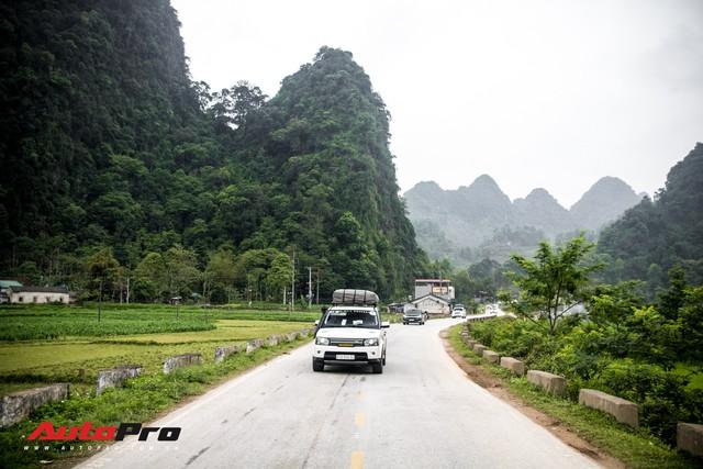 Hành trình từ trái tim chặng Cao Bằng - Bản Giốc: Đoàn Range Rover mở lều, đốt lửa trại - Ảnh 1.