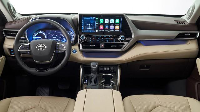 Những điểm nhấn khó bỏ qua trên Toyota Highlander mới vừa ra mắt mà Ford Explorer cần dè chừng - Ảnh 5.