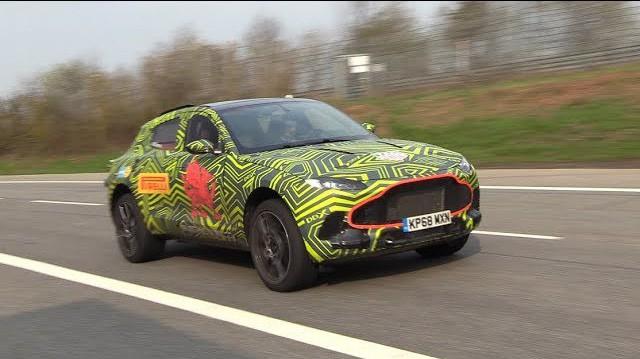 Aston Martin DBX thể hiện tiếng gầm V8 dữ dằn tại Nurburgring, tiến gần hơn đến ngày ra mắt