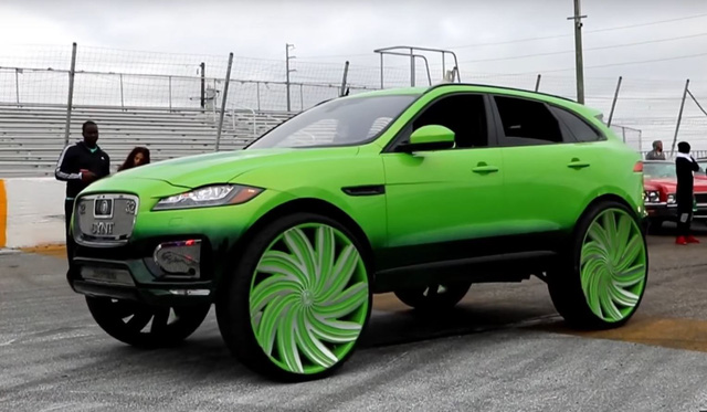 Jaguar F-Pace độ chứng minh một điều: Muốn phá tổng thể xe nhanh nhất hãy độ mâm - Ảnh 1.