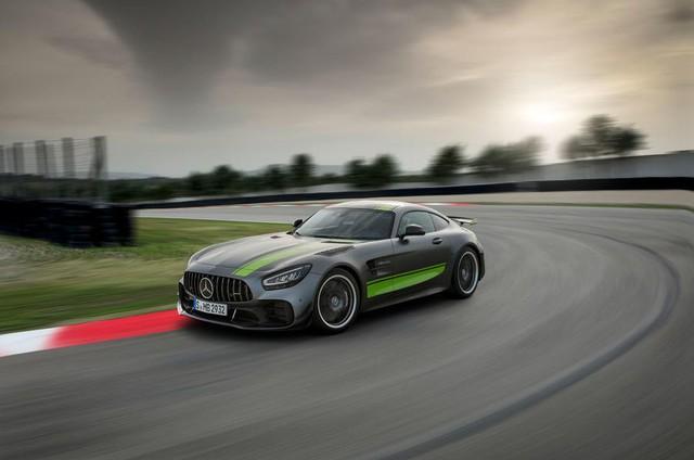 Mercedes-AMG GT Black Series: Xe Mercedes nhanh nhất, mạnh nhất chuẩn bị trình làng - Ảnh 1.