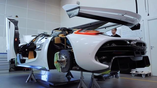 Quy trình chế tạo siêu xe Koenigsegg Jesko giá 3 triệu USD