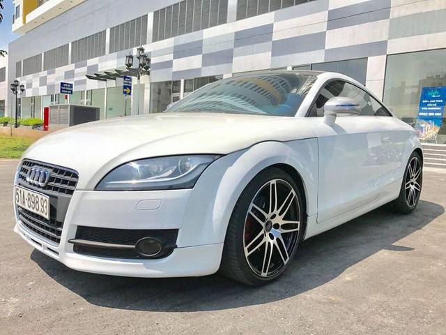 Audi TT 2008 độ - Xe 'chơi' giá hơn 600 triệu đồng, bằng lăn bánh Suzuki Swift - Ảnh 1.