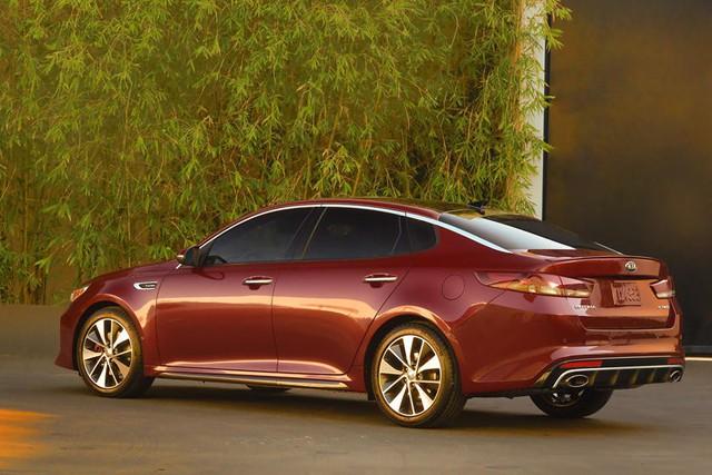 Sau Hyundai Sonata, tới lượt Kia Optima hứa hẹn làm người nhìn ngỡ ngàng - Ảnh 1.