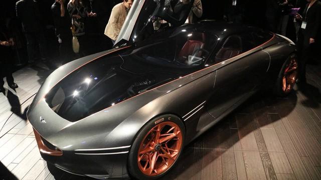 Đỉnh cao xe Hàn Genesis Essentia được bật đèn xanh, bản thành phẩm ra mắt trong 2 năm tới - Ảnh 1.