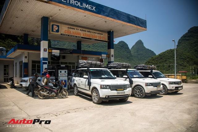 Ông Đặng Lê Nguyên Vũ tốn bao nhiêu tiền xăng cho dàn xe Range Rover trong hành trình xuyên Việt 2019? - Ảnh 1.