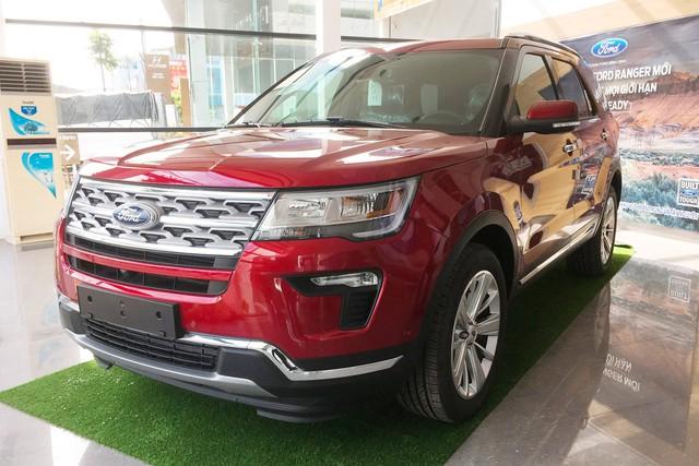 Qua cơn sốt, Ford Explorer hết 'lạc', giảm giá mạnh, Hyundai Santa Fe trước cơ hội về giá đề xuất - Ảnh 1.