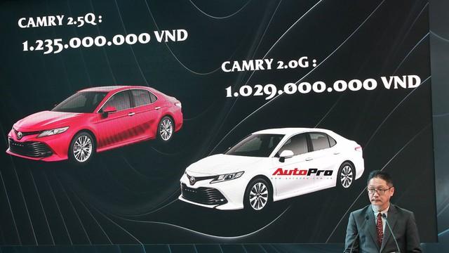 Toyota Camry 2019 chốt giá cao nhất 1,235 tỷ đồng - Rẻ bất ngờ so với đồn đoán - Ảnh 3.