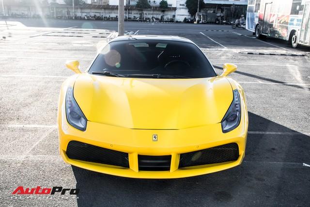 Ferrari 488 GTB màu vàng óng từng của đại gia Bình Dương tìm được chủ nhân mới, ra biển số trắng Sài Gòn - Ảnh 3.