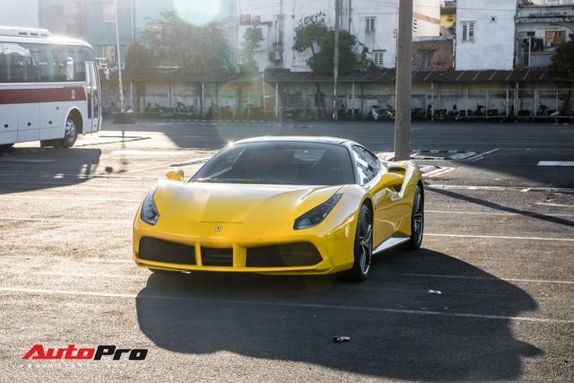 Ferrari 488 GTB màu vàng óng từng của đại gia Bình Dương tìm được chủ nhân mới, ra biển số trắng Sài Gòn - Ảnh 4.