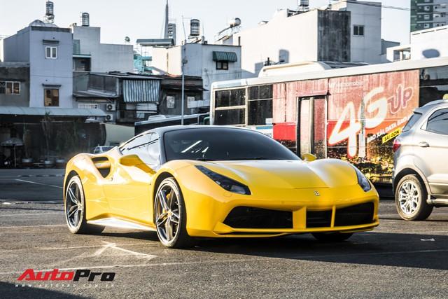 Ferrari 488 GTB màu vàng óng từng của đại gia Bình Dương tìm được chủ nhân mới, ra biển số trắng Sài Gòn - Ảnh 12.