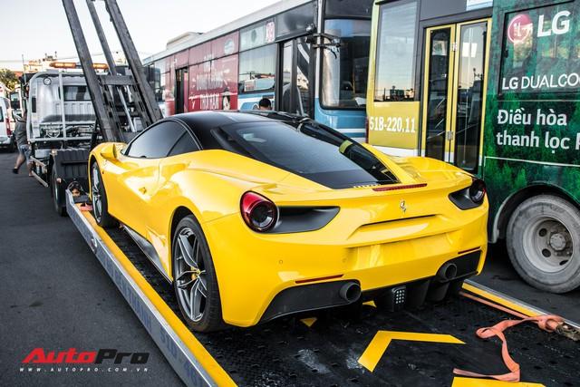 Ferrari 488 GTB màu vàng óng từng của đại gia Bình Dương tìm được chủ nhân mới, ra biển số trắng Sài Gòn - Ảnh 7.