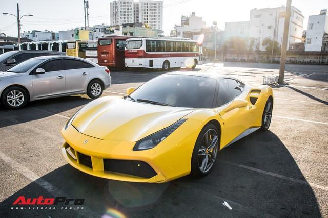 Ferrari 488 GTB màu vàng óng từng của đại gia Bình Dương tìm được chủ nhân mới, ra biển số trắng Sài Gòn - Ảnh 13.