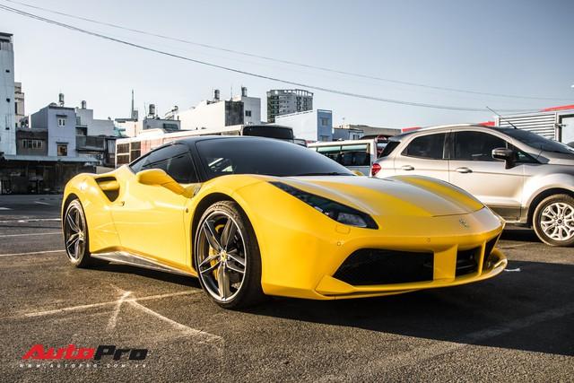 Ferrari 488 GTB màu vàng óng từng của đại gia Bình Dương tìm được chủ nhân mới, ra biển số trắng Sài Gòn - Ảnh 14.