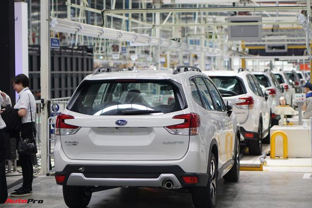 Lộ thông số chi tiết các phiên bản Subaru Forester 2019 đang đổ xô về Việt Nam, cạnh tranh Honda CR-V - Ảnh 1.