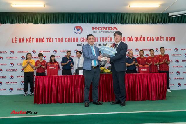 Honda Việt Nam tiếp tục tài trợ chính cho các đội tuyển bóng đá quốc gia - Ảnh 1.