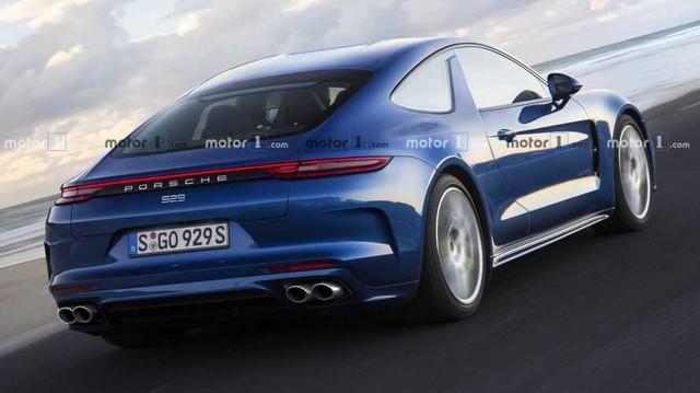 Porsche Panamera sắp có bản 2 cửa mui trần đấu BMW 8-Series