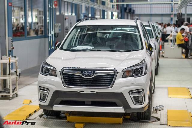 Subaru Forester 2019 nhập khẩu Thái Lan lộ giá bán từ 1,128 tỷ đồng - lời đe dọa tới Honda CR-V và Mazda CX-5 - Ảnh 1.