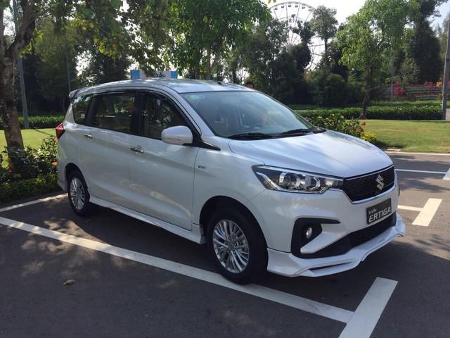 Suzuki Ertiga 2019 tiếp tục lộ thông tin: Động cơ cũ, 4 phiên bản, bản cao cấp nhất có cân bằng điện tử - Ảnh 1.