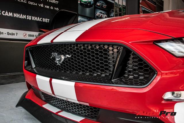 Khám phá chi tiết ngựa hoang' Hennessey Heritage Edition Mustang độ công suất khủng độc nhất Việt Nam - Ảnh 4.