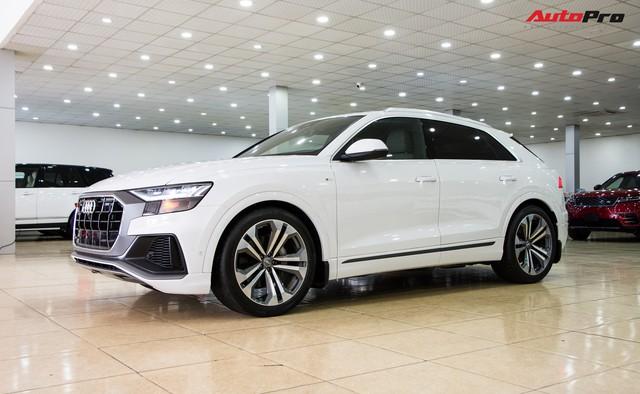 Audi Q8 2019 đầu tiên tại Việt Nam về tay đại gia Hà Thành sau 2 tháng nằm chờ tại showroom - Ảnh 1.